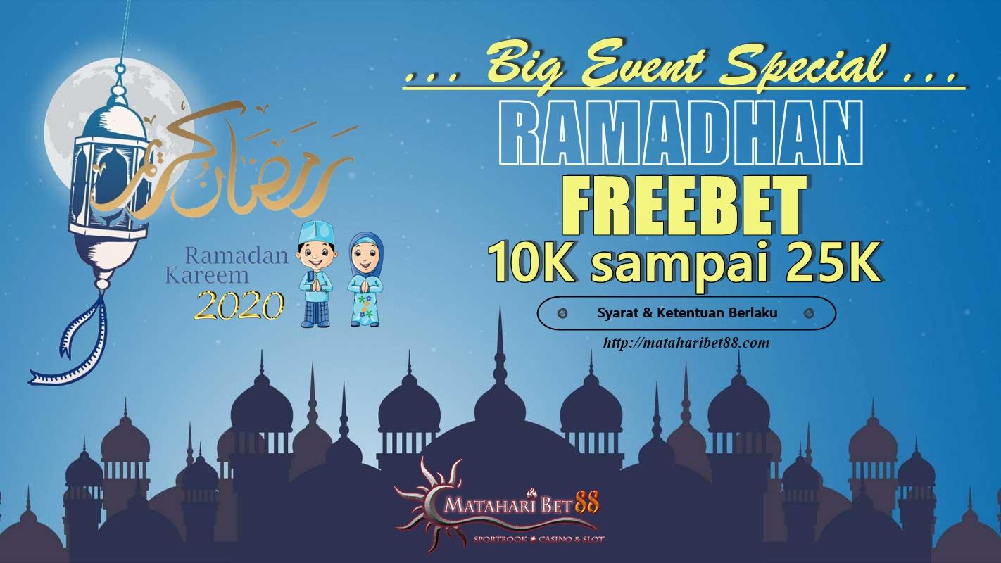 MATAHARIBET88 - Promo Freebet Gratis hingga Rp. 25.000