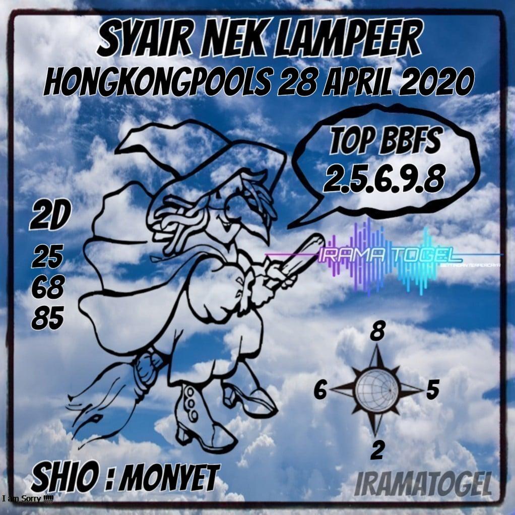 Syair Top Jitu Nek Lampeer HK Hari Ini Selasa 28 April 2020-min.jpg (1022×1022)