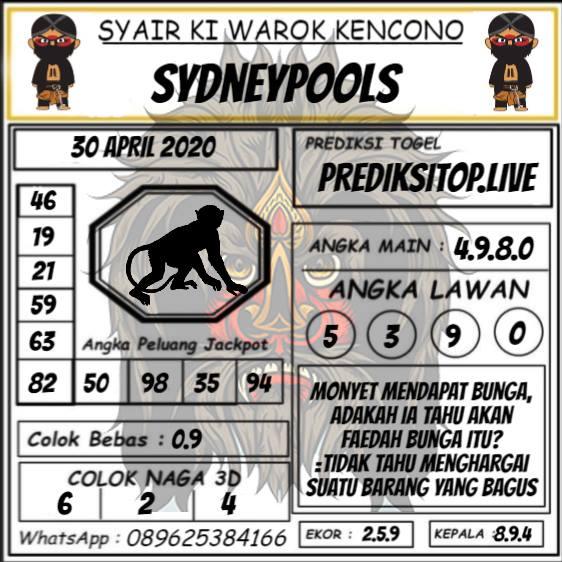 Syair Top Jitu Ki Warok Kencono Sydney Hari Ini Kamis 30 April 2020.jpg (562×562)