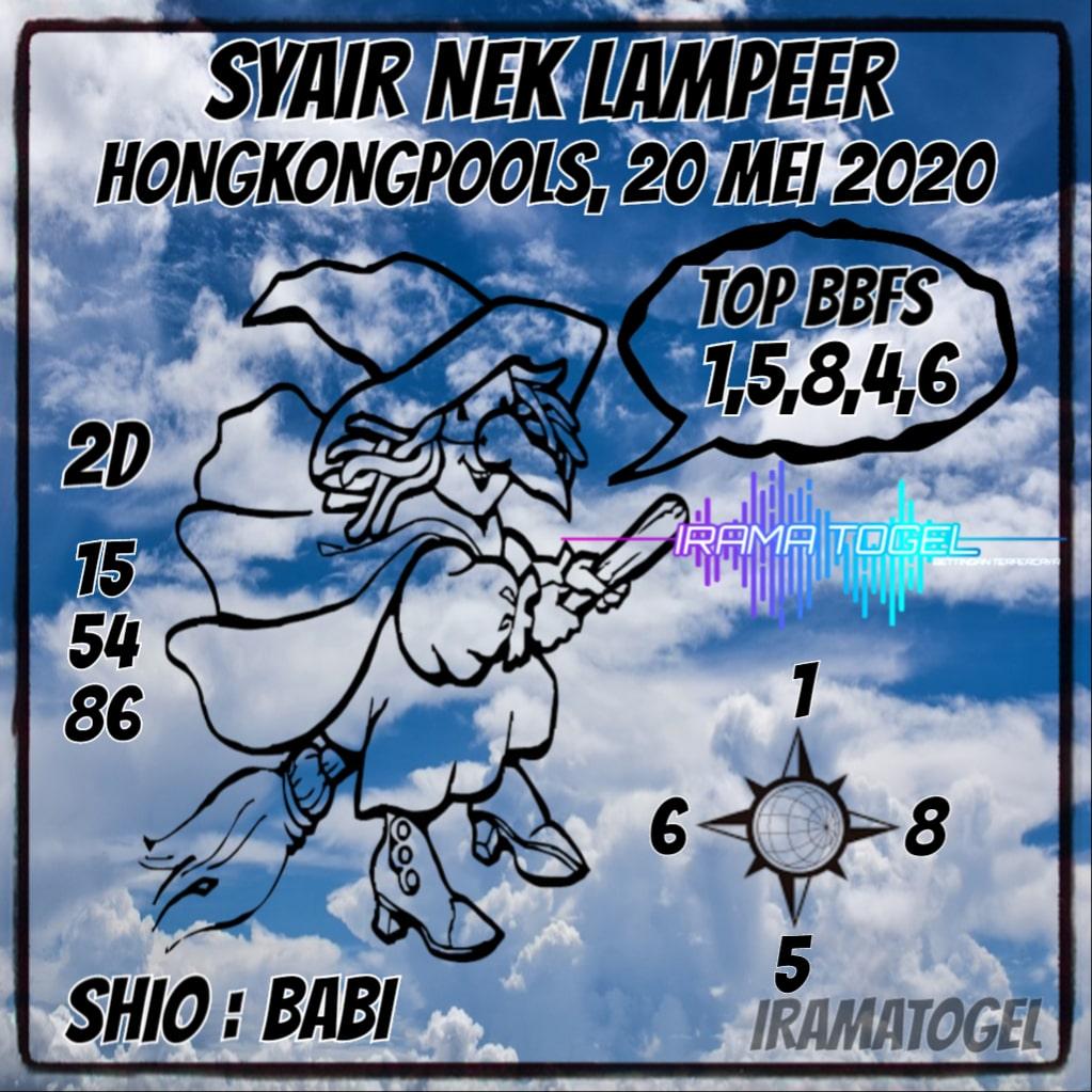 Syair Top Jitu Nek Lampeer HK Hari Ini Rabu 20 Mei 2020.jpg (1023×1023)