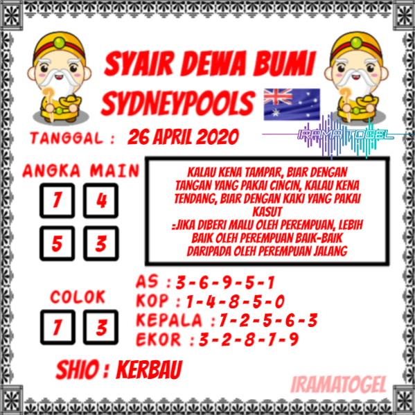 Syair Top Jitu Dewa Bumi Sydney Hari Ini Minggu 26 April 2020.png (599×599)