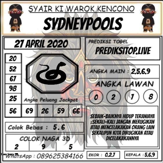 Syair Top Jitu Ki Warok Kencono Sydney Hari Ini Senin 27 April 2020.jpg (562×562)