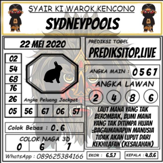 Syair Top Jitu Ki Warok Kencono Sydney Hari Ini Jumat 22 Mei 2020.jpg (561×561)