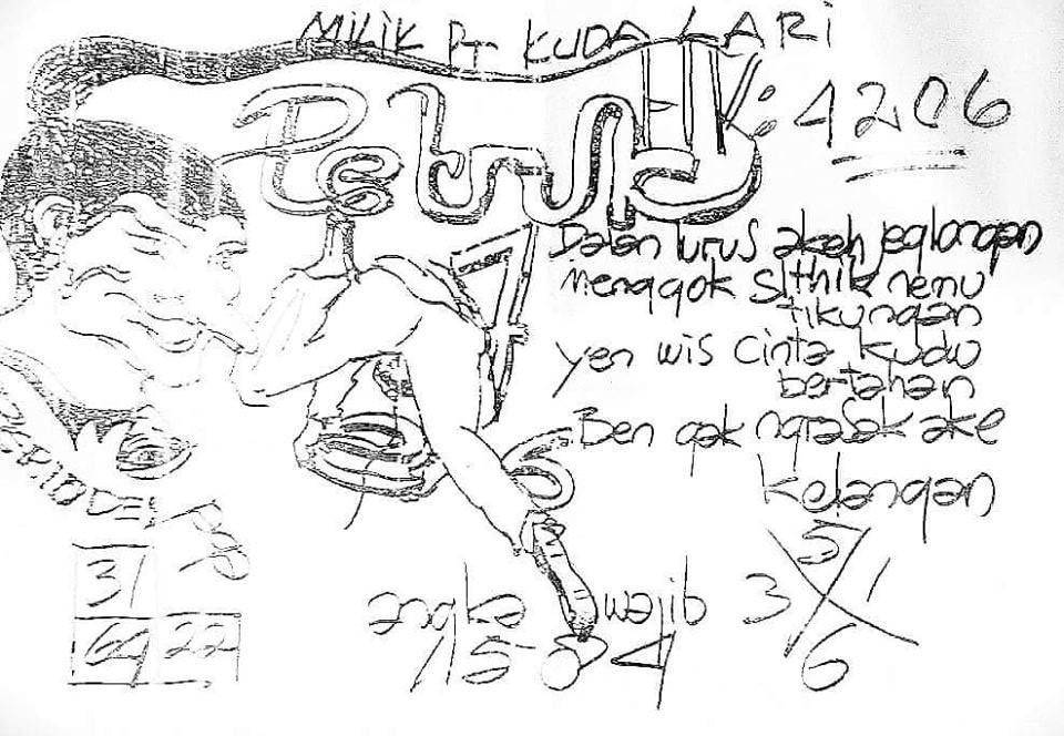 kode kuda lari togel hongkong